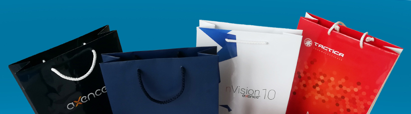 Torby papierowe firmowe z logo (kraftowe)